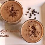 Apple chocolate smoothie recipe – How to make apple chocolate smoothie recipe