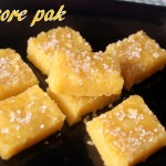 Mysore pak recipe – How to make soft mysore pak recipe – a rich South Indian sweet
