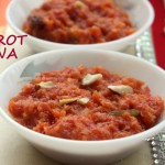 Carrot halwa recipe – How to make carrot halwa or gajar ka halwa recipe in pressure cooker