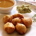 Mysore bonda recipe – How to make mysore bonda recipe | ulundu bonda – Indian snacks