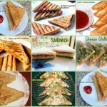 Collection of sandwich recipes – Indian sandwich recipes