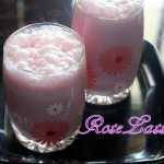 Rose lassi recipe – How to make rose lassi recipe – lassi recipes