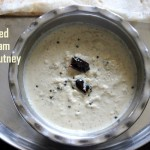 Fried or roasted gram dal chutney recipe or pottukadalai chutney recipe – chutney recipes