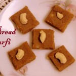 Bread burfi recipe – How to make bread barfi recipe – easy bread recipes