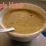 Apple kheer or payasam recipe – How to make apple kheer recipes – kheer recipes