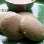 Brown rice idli recipe – How to make soft brown rice idli recipe – healthy breakfast recipes