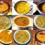 Collection of dal recipes – Indian curries – dal recipes