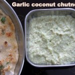 Garlic coconut chutney recipe – How to make garlic coconut chutney for idli dosa – chutney recipes