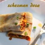 Schezwan dosa recipe – How to make schezwan dosa recipe – dosa recipes