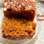 Whole wheat with jaggery cake recipe – eggless cake recipes
