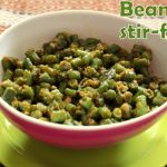 French beans subzi – Maharashtrian style recipe – How to make Farasbi chi sabzi – side dish for rotis