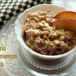 Apple cinnamon oats recipe – How to make apple cinnamon oats recipe – Healthy breakfast recipes