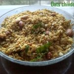 Oats chivda recipe – How to make roasted oats chivda recipe – healthy recipes