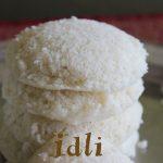 Cooked rice idli recipe – How to make idli with cooked rice or leftover rice recipe – idli recipes