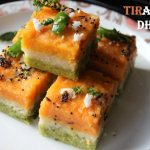 Tiranga dhokla or tricolour dhokla recipe – How to make tiranga dhokla recipe