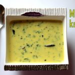 Methi kadhi recipe – Methi or fenugreek kadhi recipe – How to make methi kadhi recipe