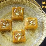 Mango burfi recipe – How to make mango burfi recipe – mango recipes