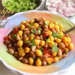 Chickpea peanut salad recipe – How to make chana moongphali salad recipe – salad recipes