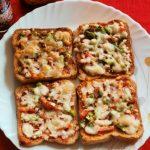 Bread pizza recipe – How to make bread pizza recipe – bread snacks