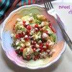 Sweet potato chaat recipe – How to make sweet potato or shakarkandi chaat recipe – chaat recipes