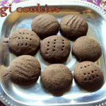 Ragi cookies – How to make eggless ragi jaggery cookies (finger millet cookies) recipe – ragi recipes