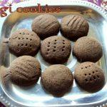 Ragi cookies – How to make eggless ragi jaggery cookies (finger millet cookies) recipe – ragi recipes
