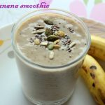 Oats banana smoothie recipe – How to make oats banana smoothie recipe – oats recipes