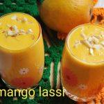 Mango lassi recipe – How to make mango lassi (aam ki lassi) (mango yoghurt drink) recipe – lassi recipes