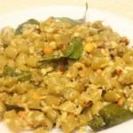 Beans palya (French beans foogath)