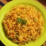 Tomato bhath or tomato rice recipe