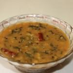 Menthya soppu huli or methi sambar