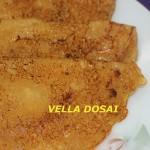 Vella dosai or bellada dosa or jaggery pancakes