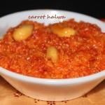 Carrot halwa or Gajar ka halwa