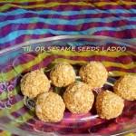 Til or sesame seeds ladoo or til gul ladoo recipe