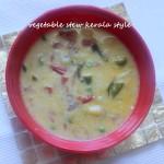 Kerala vegetable stew or ishtu
