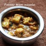 Paneer tawa masala recipe