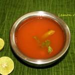 Lemon rasam recipe