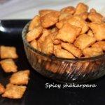 Spicy shakarpara or shankarpali recipe – easy diwali sweet recipe