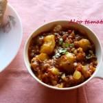Aloo tamatar (Potato with tomato curry) recipe – no onion no garlic recipe