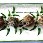 Sprouted green gram (moong) pakora recipe