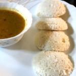 Idli (made with idli rava)/soft idli recipe