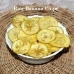 Raw banana (plantain) chips recipe
