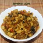 Soyabean curry recipe
