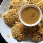 Healthy vegetable broken wheat idli or dalia idli or samba godhumai idli recipe