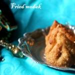 Fried modak recipe – Ganesh Chaturthi festival recipe