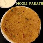 Mooli paratha recipe – how to make mooli paratha or radish paratha recipe