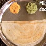 Kodo millet dosa recipe – Varagu/harka dosa recipe – healthy breakfast recipes
