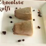 Chocolate kulfi recipe – how to make choco kulfi recipe – Indian desserts