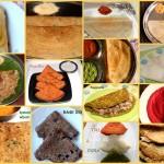 Dosa recipes – Collection of 14 dosa recipes – south indian dosa recipes