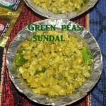 Green peas sundal (pattani sundal) recipe – How to make green peas sundal recipe – Navratri recipes